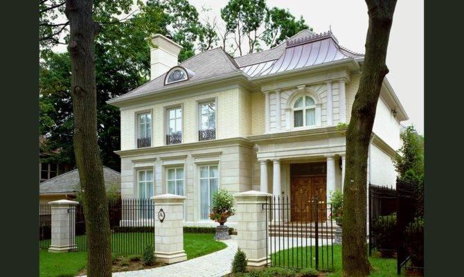 Parisian City House Custom Luxury Home Builders