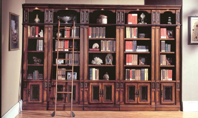 Parker House Davinci Library Bookcases Dav Homelement