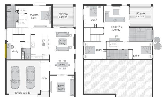 Parkland Floorplans Mcdonald Jones Homes