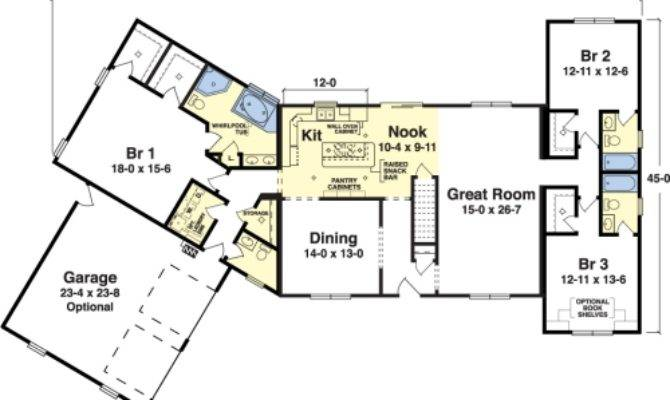 Parkridge Simplex Modular Homes Ranch Floorplan