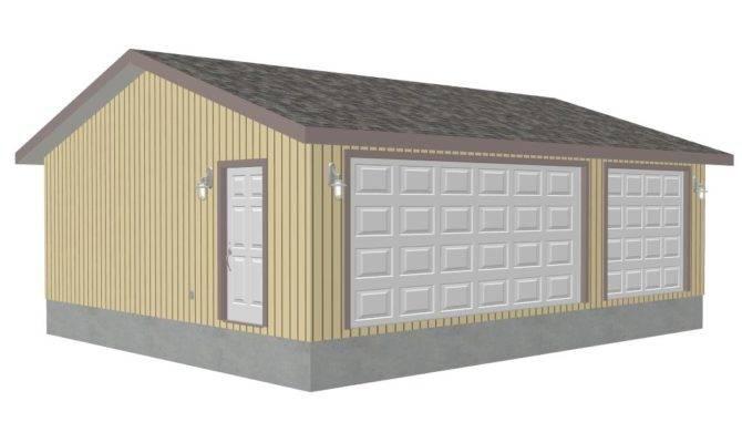 Parrott Detached Garage Sds Plans