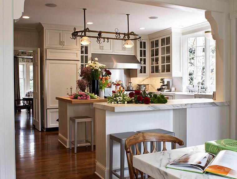 Partially Open Floor Plan Dream Kitchen Pinterest House Plans