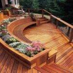 Patio Color Ideas Awesome Deck Designs Small Decks