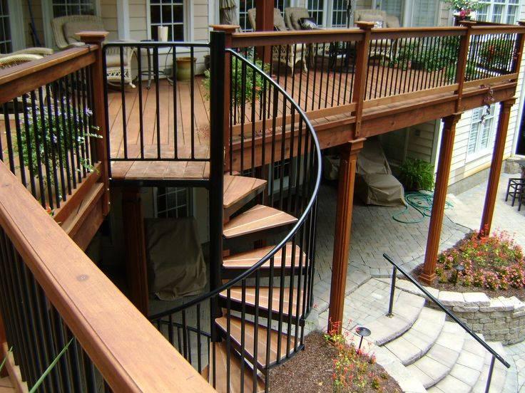 Simple Second Floor Deck Plans Ideas