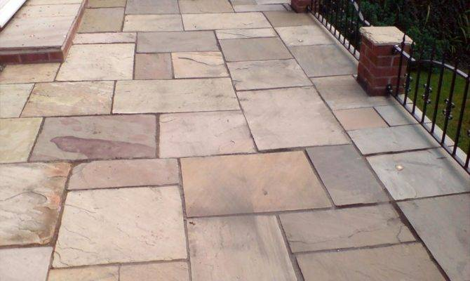 Patio Slabs Ideas Paving