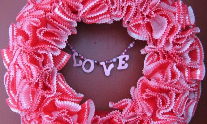 Pattern Shmattern Valentines Day Wreath