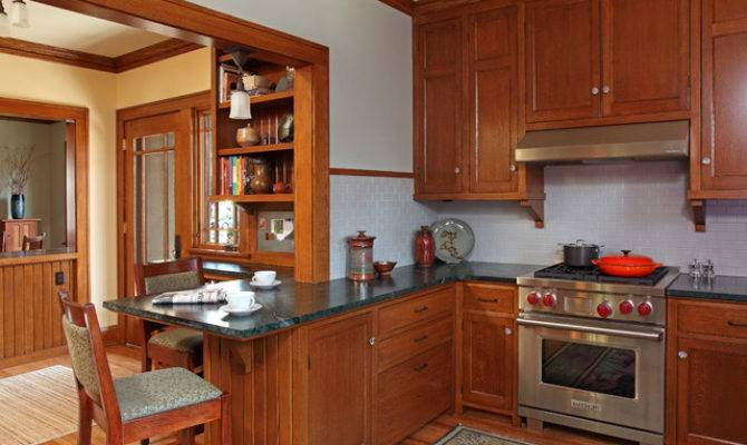 Paul Bungalow Remodel Craftsman Kitchen
