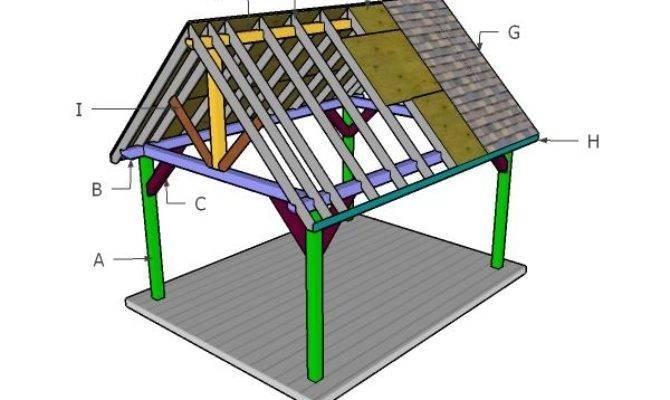 Pavilion Roof Plans Myoutdoorplans