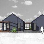 Pavilion Style Home Plans Breezeways House Architecture