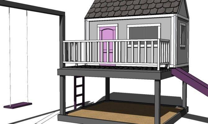 Pdf Diy Build Playhouse Plans Kids
