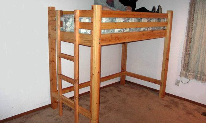 Pdf Diy Loft Bed Yourself Plans Knock Off