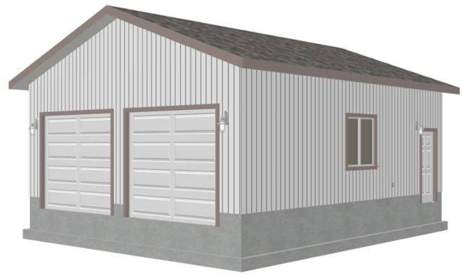 Pdf Garage Plans Blueprints Sample