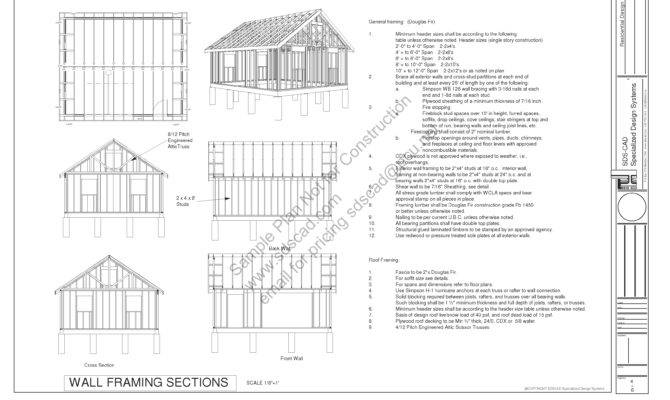 Pdf Garage Plans Blueprints