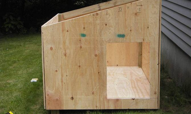 Pdf Large Dog House Plans