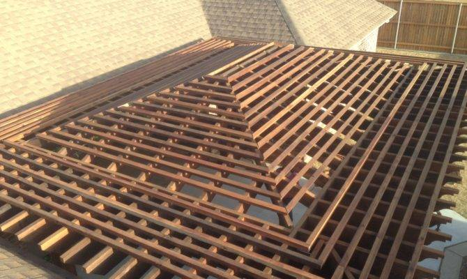 Pdf Pergola Designs Hip Roof Plans
