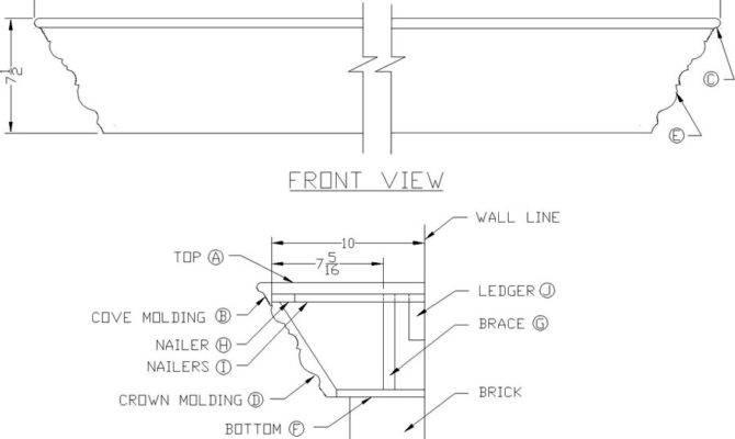 Pdf Plans Fireplace Mantel