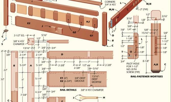 Pdf Plans Woodworking Bed Frame Diy