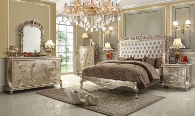 Pearl Victorian Design Bedroom Set Homey