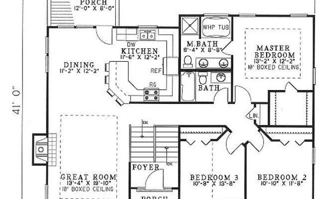 Pen Bdrm Floor Plans Plan Sloping Lot