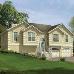 Penfield Split Level Home Plan House Plans More