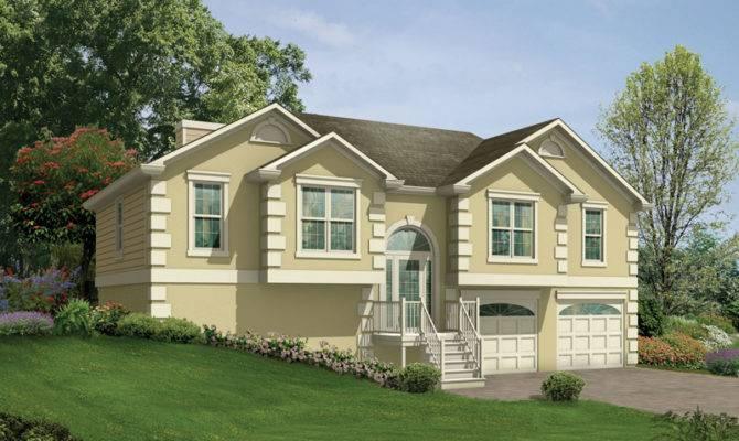 Penfield Split Level Home Plan House Plans