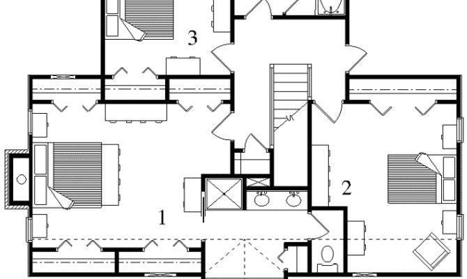 Peninsula Main Level Floor Plan Upper