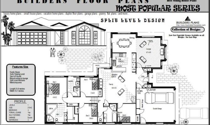 Perfect Bedroom Split Level House Plans