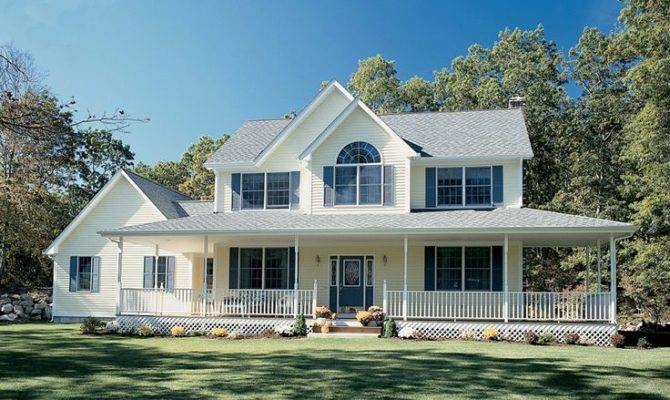 Perfect Country Home Wrap Around Porch Plan