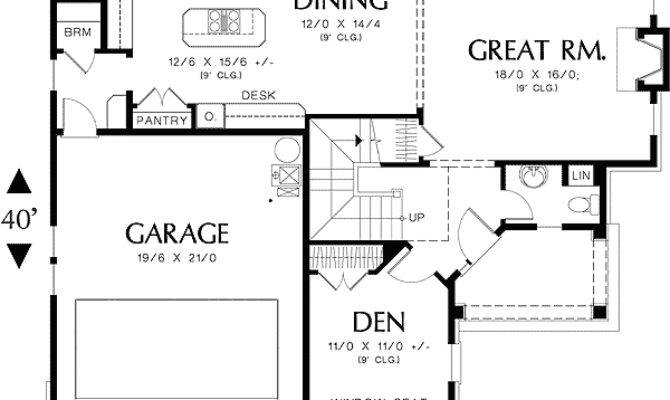 Perfect Home Plan Corner Lot Floor