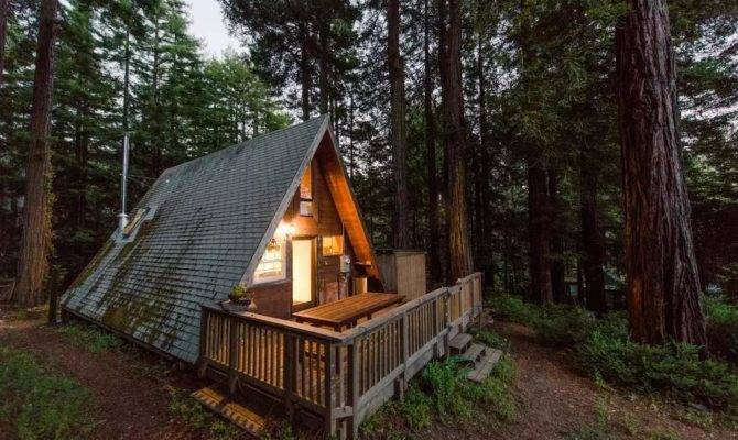 Perfect Retreat Frame Tiny Cabin Love