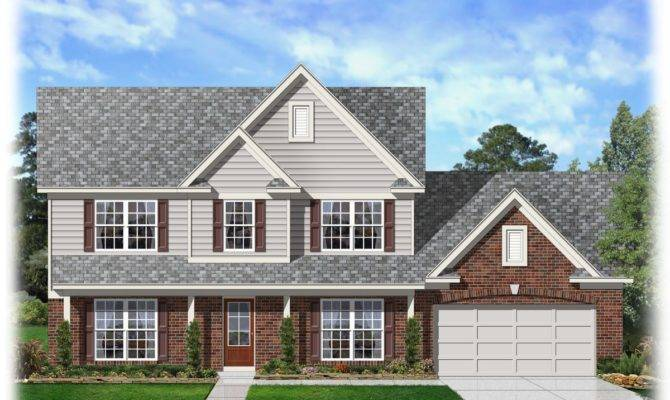 Perfect Two Story Traditional Home Plan