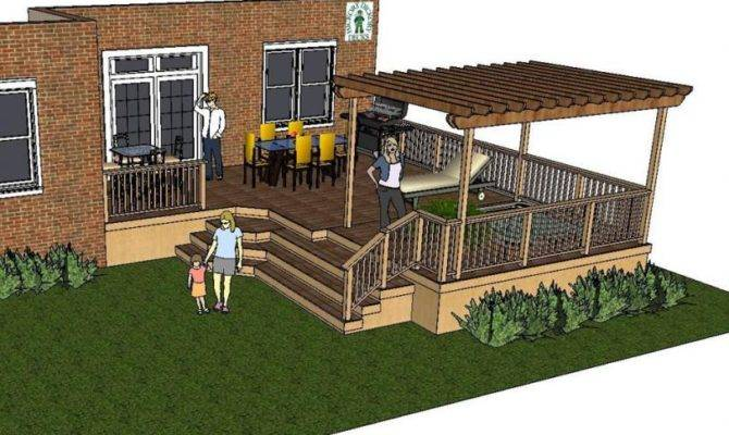 Pergola Diy Deck Plans