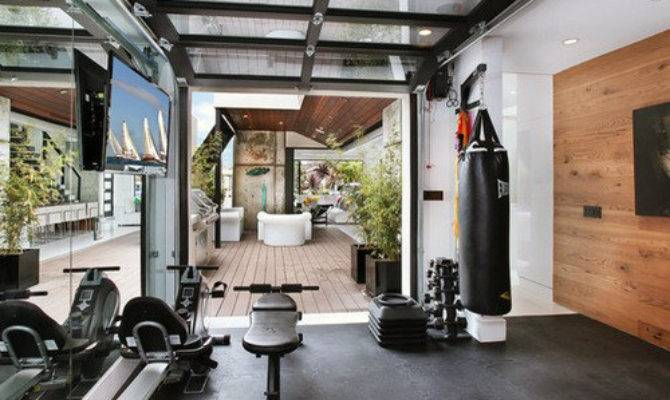 Personal Home Gym Design Ideas Men Workout Rooms