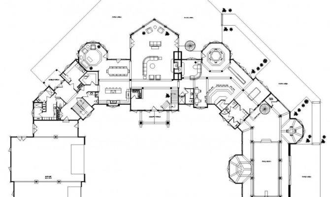 Petenwell Estate Log Homes Cabins Home Floor Plans