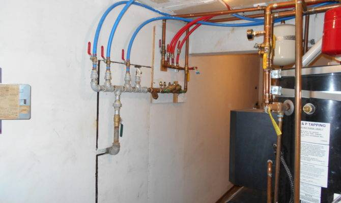 Pex Pipe Manifold Home Inspection Woodinville