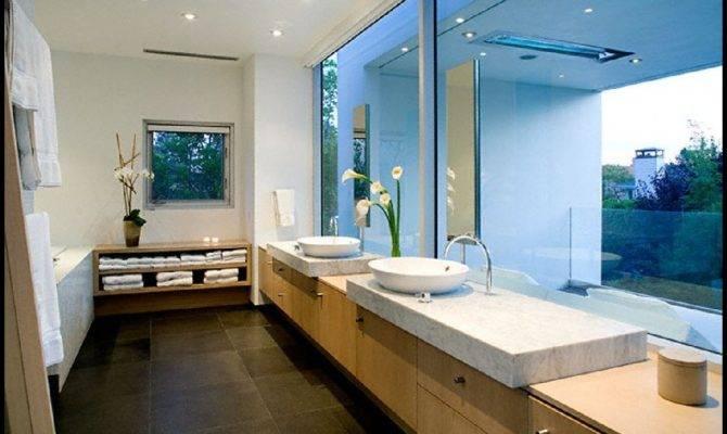 Photos Bathroom Simple Rectangular Shape House Design Ideas