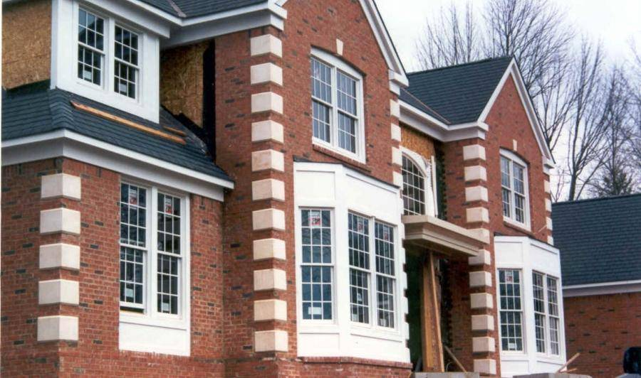 Photos Brick Homes Stone Quoins House Plans 75273