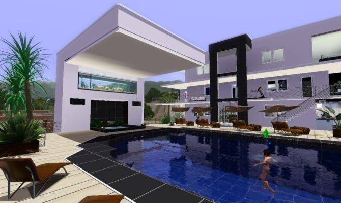Photos Inspiration Cool Sims House Plans