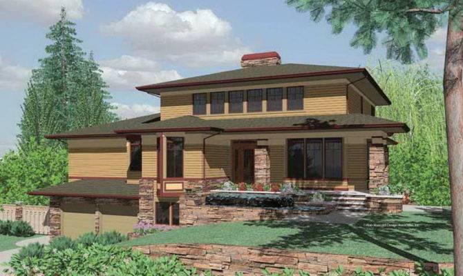 Photos Unique Design Prairie Style House Plans