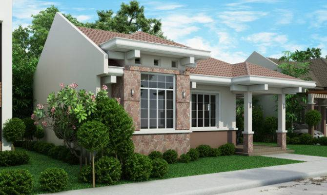 Php Small Efficient House Plan Porch Pinoy Plans