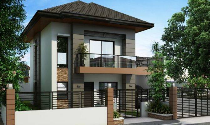 Php Two Story House Plan Bedrooms