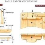 Picnic Table Bench Design Plans