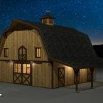 Pics Photos Dutch Gambrel Barn Plans