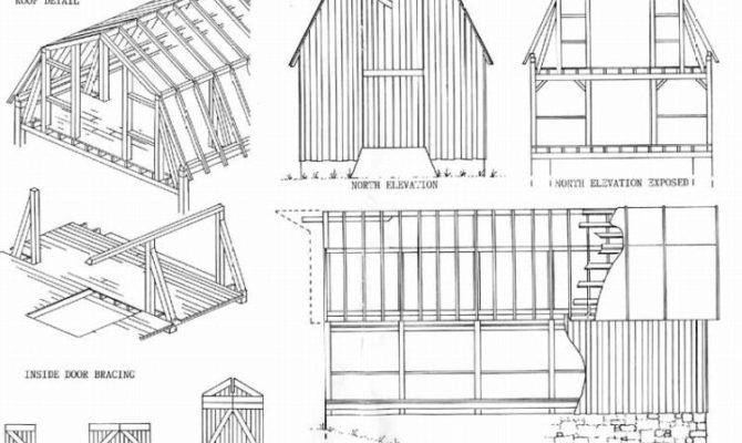 Pics Photos Gambrel Barn Plans Dutch Blueprints Building