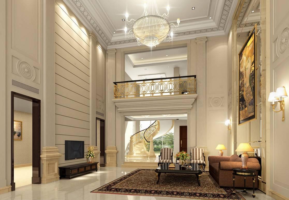 Pics Photos Luxury Villa Living Room Design Layout House - House