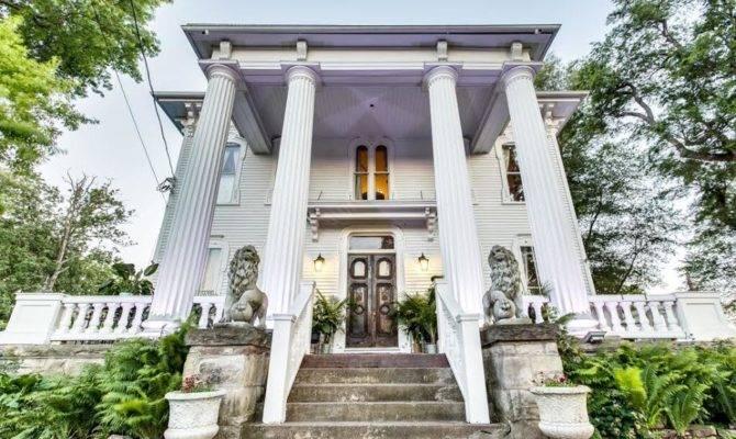 Pillars Estate Haunted Mansion New York Selling
