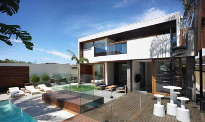 Pin Modern Tropical House Architecture Concrete Homes Design