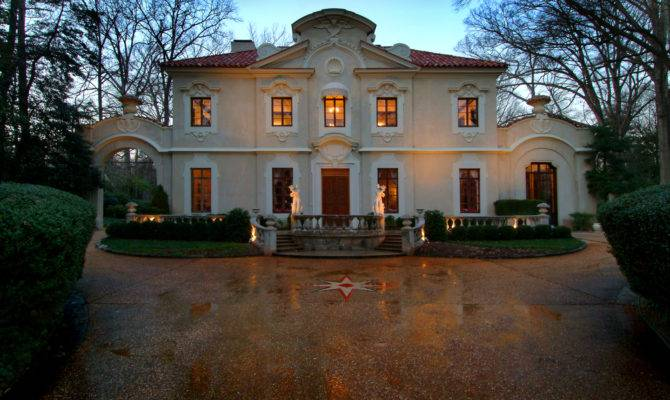 Pink Palace Priced Sell Historic Buckhead Home