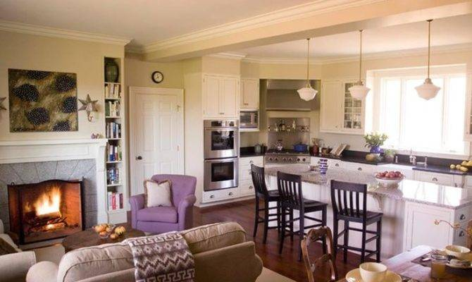 Pinterest Open Concept Kitchen Kitchens