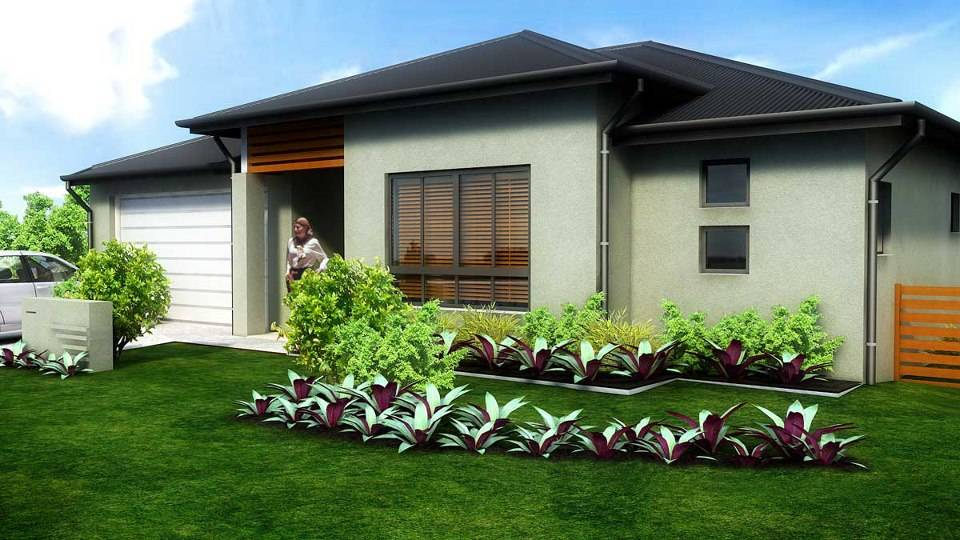 Pitch Roof House Design Single Story New Age Ign Consultants House Plans 47206